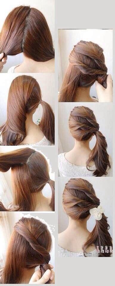 easy hairstyles glamrs easy n simple hairstyles