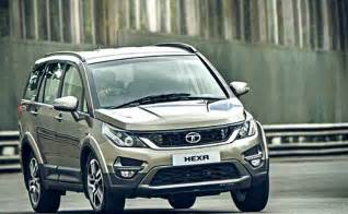 tata new model car 2016 tata hexa to be showcased at 2016 delhi auto expo launch