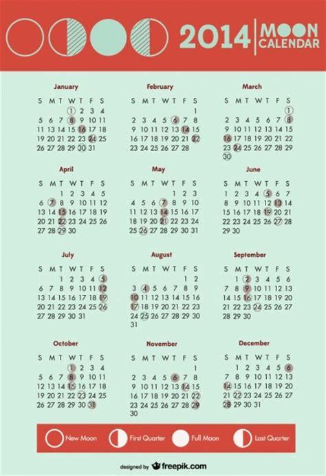 Calendario Fases Da Lua 2014 Fases Da Lua Calend 225 S 237 Mbolos Baixar Vetores Gr 225 Tis