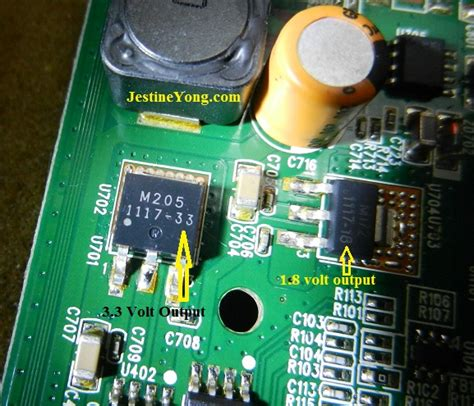 Regulator Tv Panasonic 1 8v voltage regulator ic problem in led monitor electronics repair and technology news