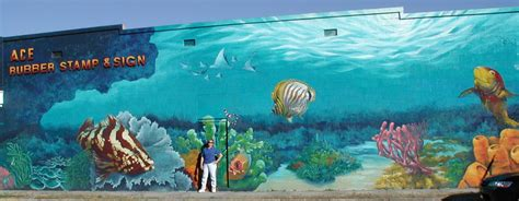 orlando rubber sts remembering one of orlando s most iconic aquatic murals