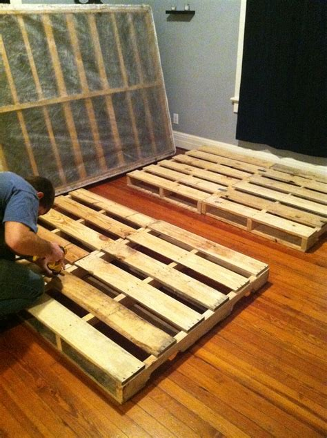 how to build a pallet bed how to make a pallet bed frame unac co