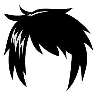 Wig Bentuk Wig Kartun cara membuat rambut karakter anime dan dengan