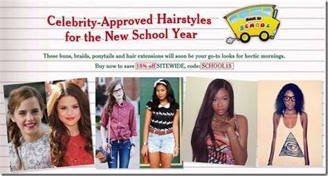 hairstyles for first day back to school celebrity approved hairstyles for back to school uniwigs