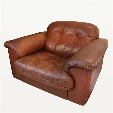 leather reclining armchairs pair of de sede ds 101 leather reclining armchairs 1969