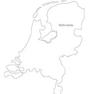 netherlands map black and white black white netherlands outline map vector by bfordyce image 950617 vectorstock
