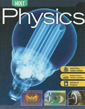 Holt Physics Books Ebay