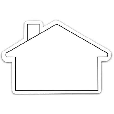 shape house house shaped magnets custom magnets 0 28 ea