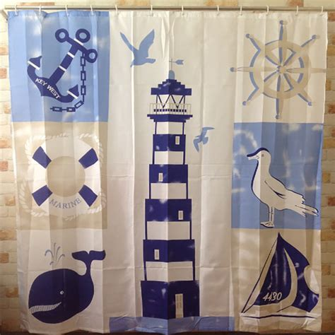 Lighthouse Shower Curtains Popular Lighthouse Curtains Buy Cheap Lighthouse Curtains Lots From China Lighthouse Curtains