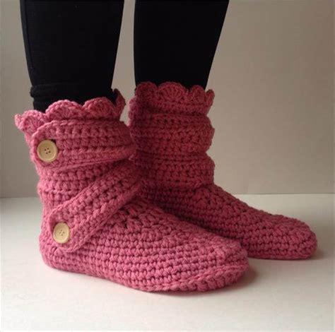 crochet pattern womens slippers women s crochet pink slippers 101 crochet
