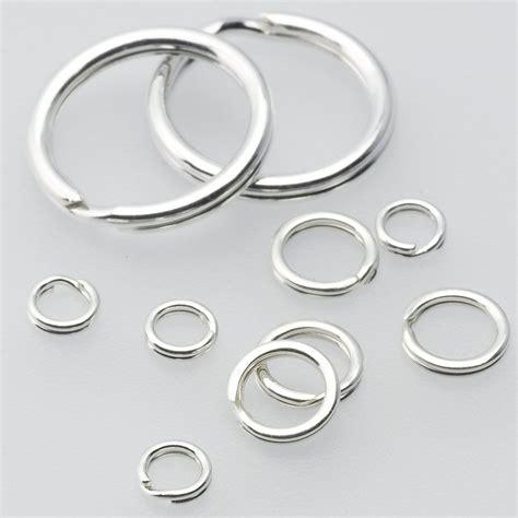 sterling silver 6 5mm split ring