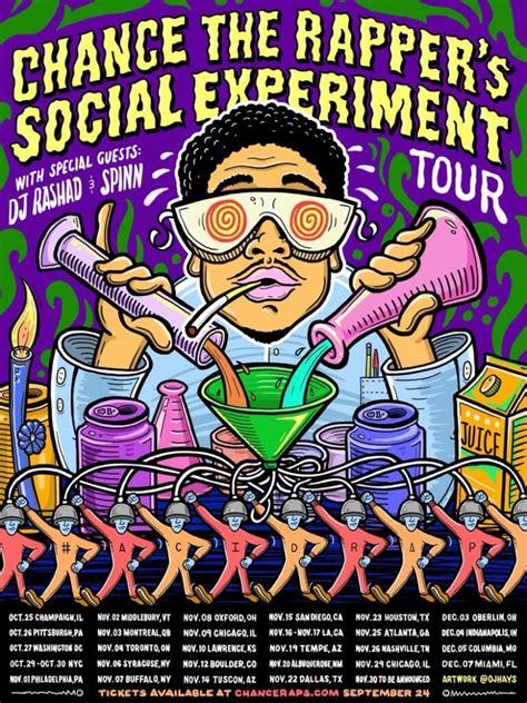 chance the rapper fan club chance the rapper announces social experiment tour upc fm