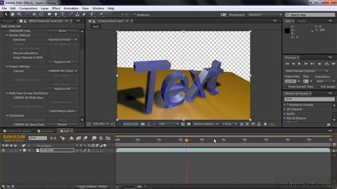 tutorial after effects cinema 4d adobe after effects cc tutorial using solid layers