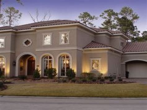 stucco house colors exterior homes stucco exterior paint