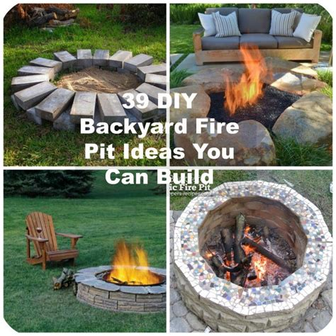 backyard firepit ideas 39 diy backyard pit ideas you can build