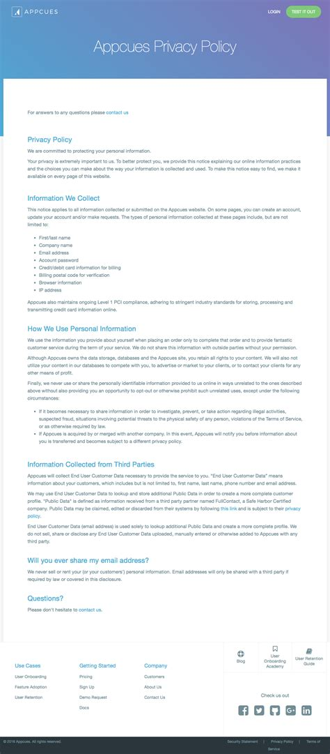generic privacy policy template privacy policy template generator free 2017