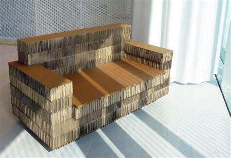cardboard sofa cool sturdy cardboard furniture to diy or buy