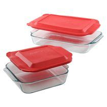 Pyrex 3 9l Oblong Dish libbey glass 6 casserole set walmart ca
