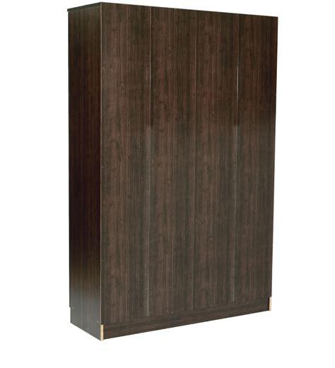 four door wardrobe in wenge finish by mintwud by mintwud
