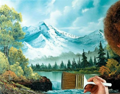 bob ross painting kit australia 102 best images about br on bobs the of