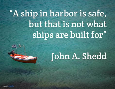 boat quotes cost a ship in harbor is safe but that is not what ships are