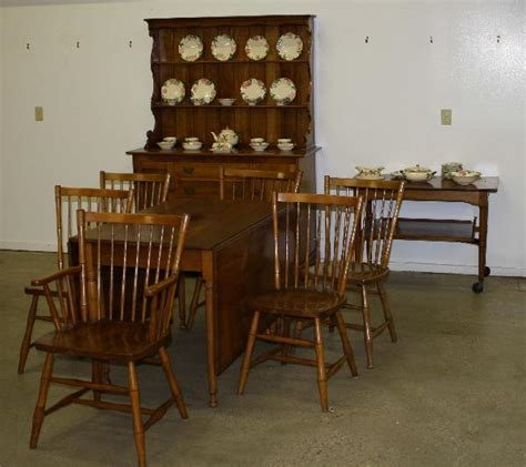 Stickley Dining Room 60 Leopold Stickley Cherry Valley Dining Room Set Incl