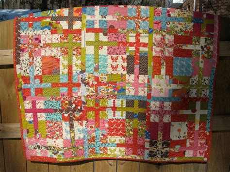 the grid sliced nine patch quilt 171 moda bake shop