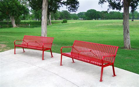 victor stanley park benches lake cliff park dallas victor stanley site