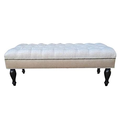 Large Upholstered Ottoman Coffee Table Design 59 Inc Large Tufted Ottoman Footstool Upholstered Coffee Table 46 X24 Presmeno