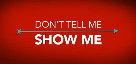 show me don t tell me show me thrive church