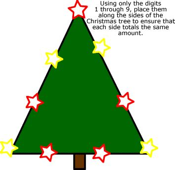 the christmas tree math problem math worksheets