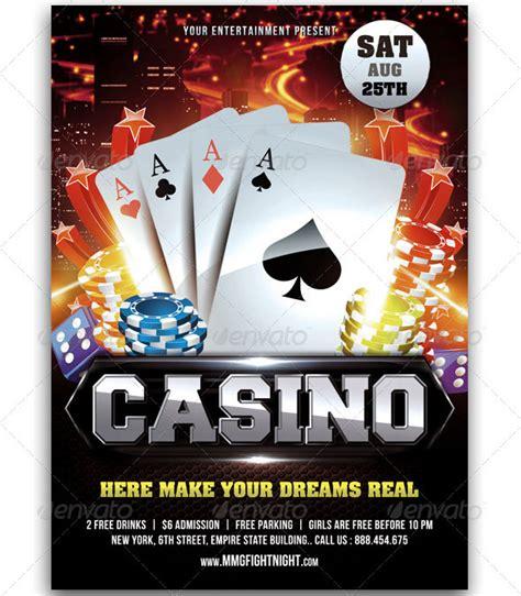 11 Beautiful Casino Flyer Templates Design Freebies Casino Flyer Template Free