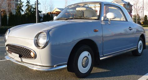 nissan figaro canada this nissan figaro is a japanese unicorn