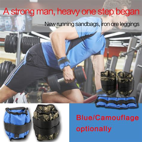 Adjustable Ankle Weight 3kg Sport Pioner 2pc 1pair 3kg adjustable leg ankle weights straps strength exercise fitness