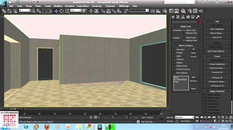 tutorial membuat tempat tidur di 3ds max 3ds max tutorial 06 membuat ruang tidur import ekspor