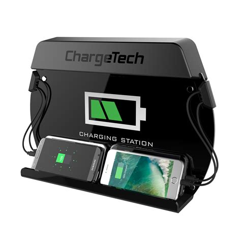 small charging station mini wall mount charging station charge up to 4 devices