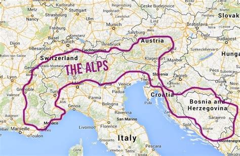 alps mountains map which country has the best most beautiful alps quora
