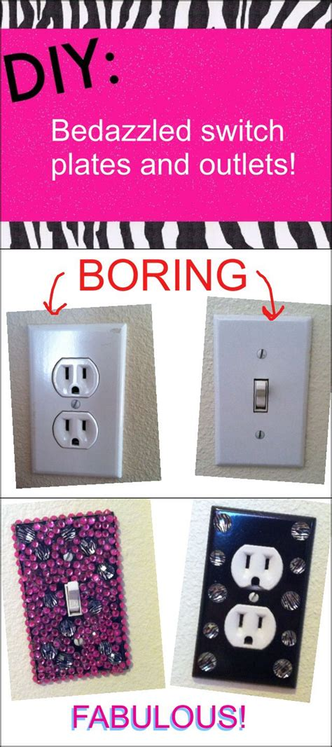 cute light switch covers bedazzled light switch plates and outlets are a super cute