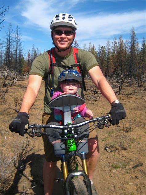 mountain bike child seat child seat on a mountain bike mtbr