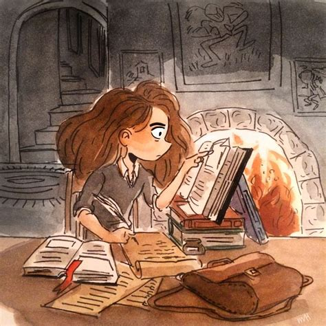 How To Study Like Hermione Granger by Hermione Granger By Hiraishi Harry Potter Fan