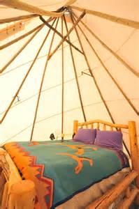 teepee interior king lodge