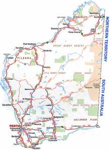 detailed map western australia images