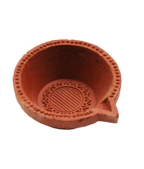 Handmade Clay Items - handmade items clay diya set of 5 buy handmade items