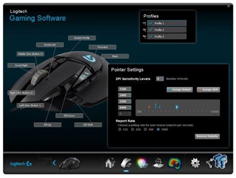 Logitech Gaming Mouse G502 Proteus Spectrum T1910 2 logitech g502 proteus spectrum rgb tunable gaming mouse review