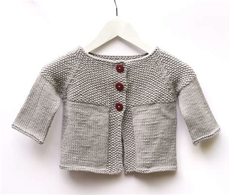 free garter stitch baby knitting patterns garter yoke baby cardigan knitting and crocheting my