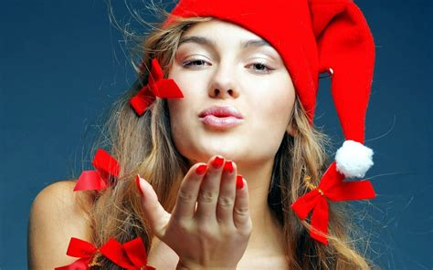 wallpaper christmas babe santa babe wallpapers hd wallpapers id 9213