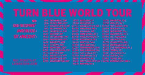 Custom Font Nameset St Pauli 2014 15 the black turn blue world tour 2014 crescent vale