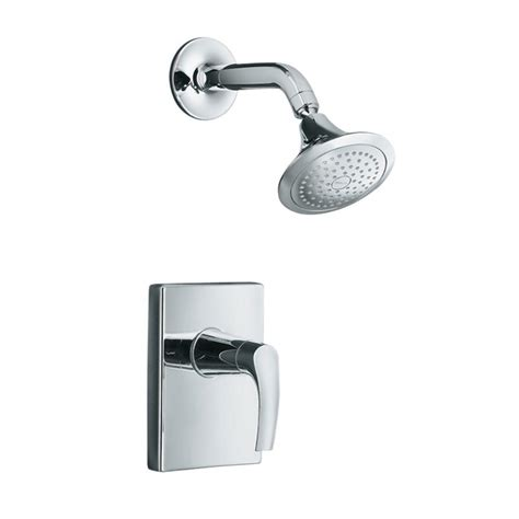 Kohler Shower Trim by Kohler Symbol 1 Handle Shower Faucet Trim Kit In Polished