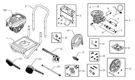 troy bilt pressure washer diagram troy bilt 2700 parts imageresizertool