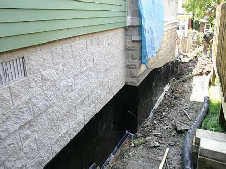 basement waterproofing toronto mississauga oakville